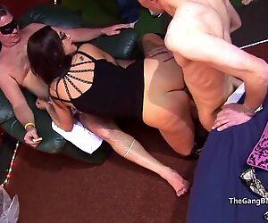 Pornstar Emma Butt at a Real Amateur Group Sex Party