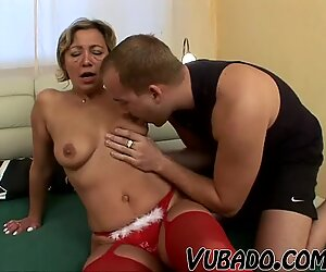 RUSSIAN mind-blowing GILF romped !!