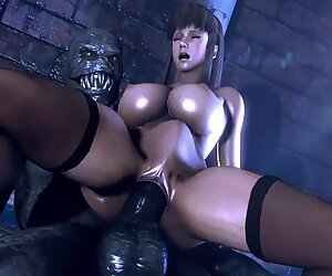 Dead or Alive Babes fucked by Monster (2)