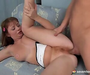 Redhead Jess loves good sweaty fuck session