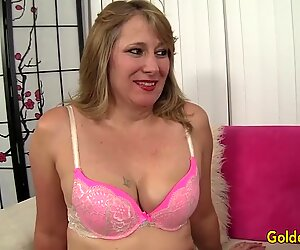 Hot to Trot Cougar Catrina Costa Takes a Fat Dick