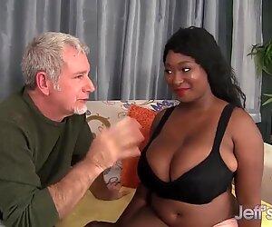 Ebony wider Marie Leone choosing a extra fat prick - Marie Black
