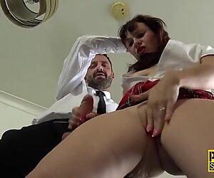 Fetish milf sub dped in threesome