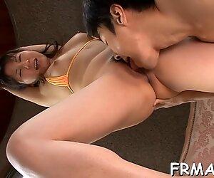 Winning Japanese fellatio