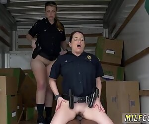 Old mature milf young Black suspect taken on a raunchy ride