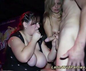 plumper latin insatiable party orgy