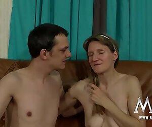 German boy fucking his mature crush