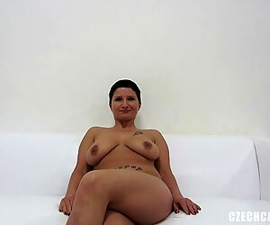 Sandra is fucking in threesome for a chance to be model