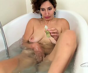 Hairy Vagina In The Bathtub