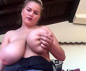 Erin smoke and show boobs