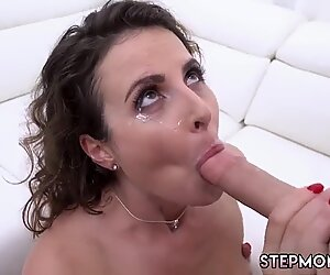 Teen couple french casting and milf car blowjob Fucking The Stepplaymate s son As