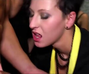 Real euro party ladies fuck