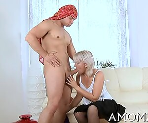 Big cock is what mama fantasies about