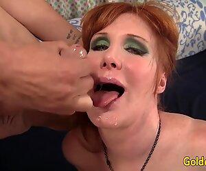 Mature Redhead Freya Fantasia Is Banged