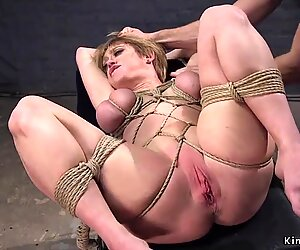 Huge tits Milf trainee had anal fmm