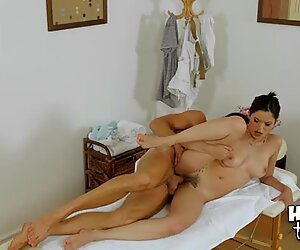 Rubber is good at mixing massage with obscene sex