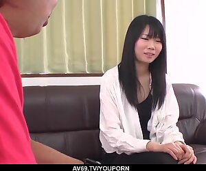 Yuzuha Takeuchi is out casting for porn and fucking a lot