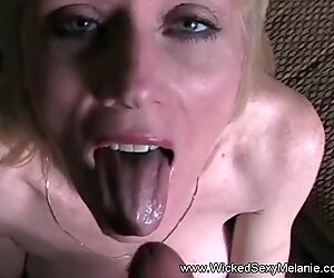 Amateur Grandmother gets A Messy Facial From Hard Cock