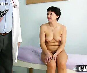 Mature Woman Eva Visits Gyno Doctor to get Gyno Mature