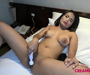fuck stick toying Asian teases Japan boy