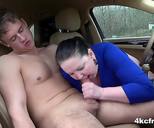 BBW Granny Gives ToyBoy a Blessing