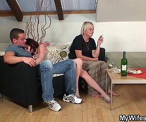 My wifes mother is boozed and horny