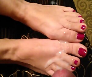 Huge load on Wife's toes