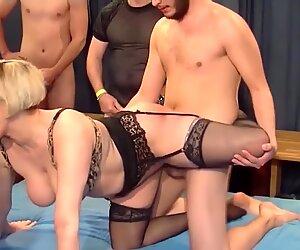 Kinky moms fuck younger boys